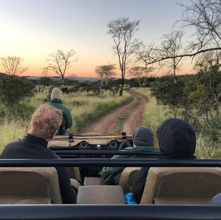 Magical sunset game drives like this are an everyday occurrence at Thanda Safari in KwaZulu-Natal South Africa. Gorgeous lighting during the moderate winter months! | Photo: @jauntist