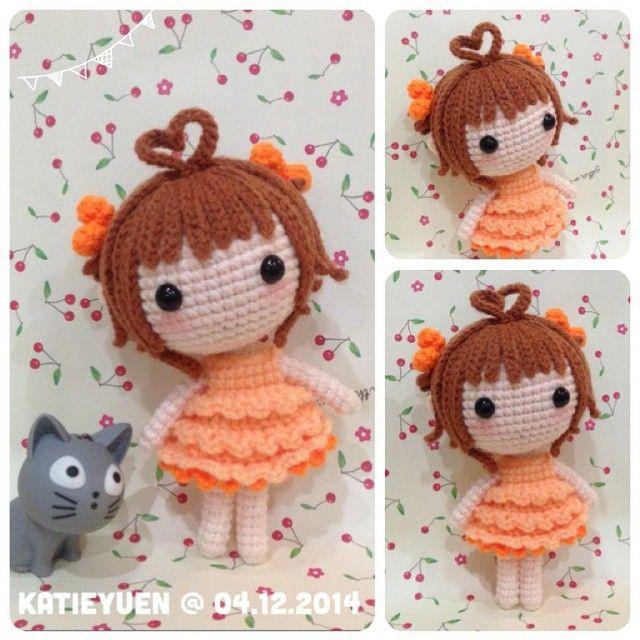 Crochet Hair Amigurumi : ... - figurer & dockor on Pinterest Free pattern, Amigurumi and Minis