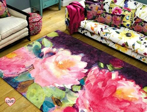 Amazing use of colour in these @Fi Bluebellgray rugs