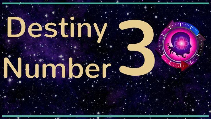 Destiny Number 3 - Expression Number 3