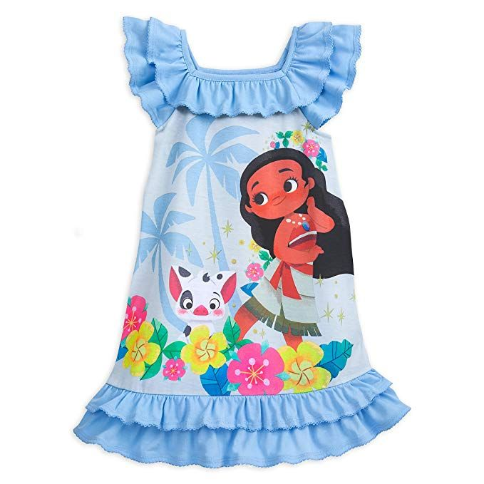 2d7d82f268cd Disney Store Moana Nightshirt for Girls