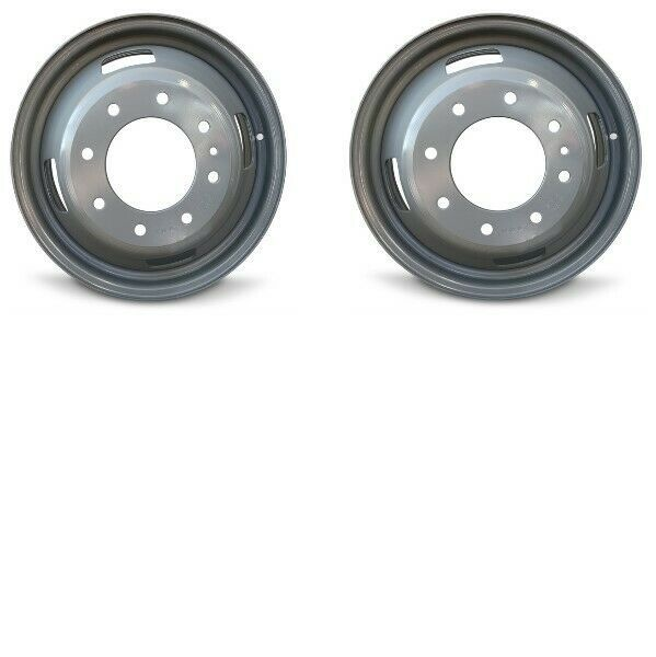 Pair 2 17 Grey Wheel Fits 05 16 Ford F350 Dually Steel 17x6 5 8x200 143mm Roadready In 2020 F350 Dually Ford F350 F350