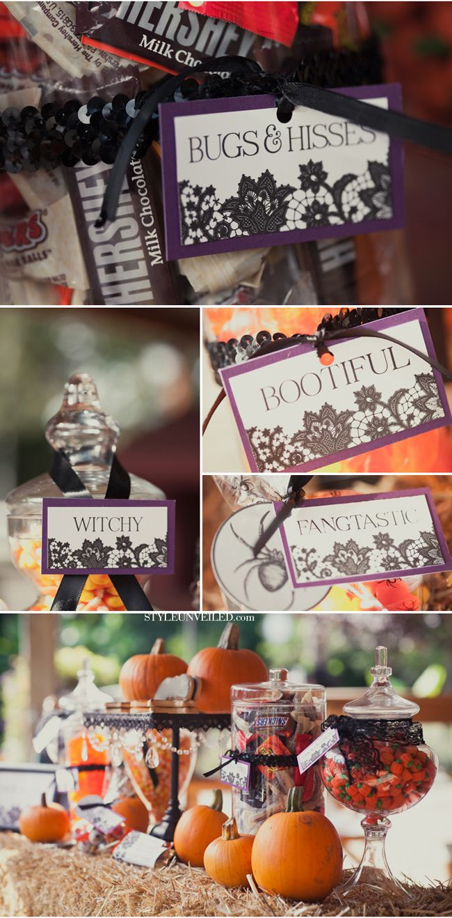 danielle this is right up your alley lol halloween purple and orange wedding - Halloween Themed Wedding Reception
