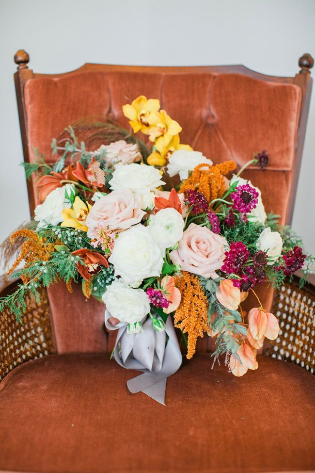 Watercolor Fall wedding inspiration