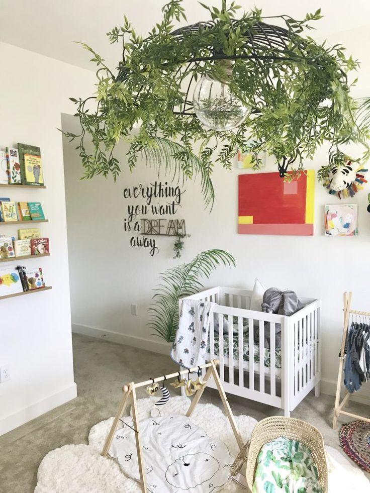 Tropic Paradise Meets Boho Diy Nursery Nursery Ideas