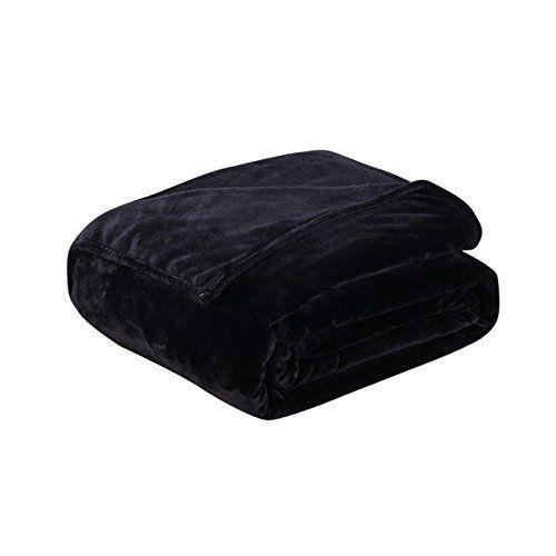 asdomo Flanell Fleece weichem Thermo-Decke/Überwurf Warm Fuzzy leicht Cozy Baby Decken All Season Full/Queen/King Size Bett Sofa, Polyester, schwarz, 70X100cm #asdomo #Flanell #Fleece #weichem #Thermo #Decke/Überwurf #Warm #Fuzzy #leicht #Cozy #Baby #Decken #Season #Full/Queen/King #Size #Bett #Sofa, #Polyester, #schwarz,