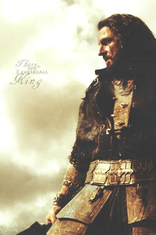 Thorin Oakenshield: There is one I could call king. #thehobit #dwarves