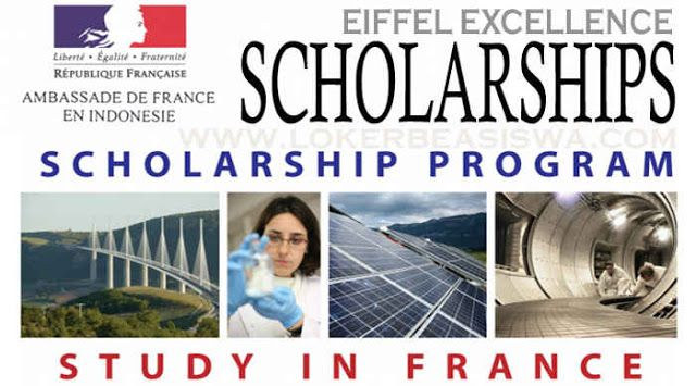 Beasiswa S2 & S3 Eiffel Excellence Scholarships Francis 2018-2019