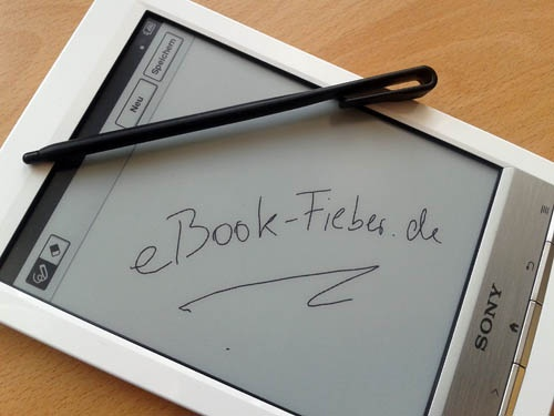 Fabulous Sony Reader PRS T mit Handschrift Funktion