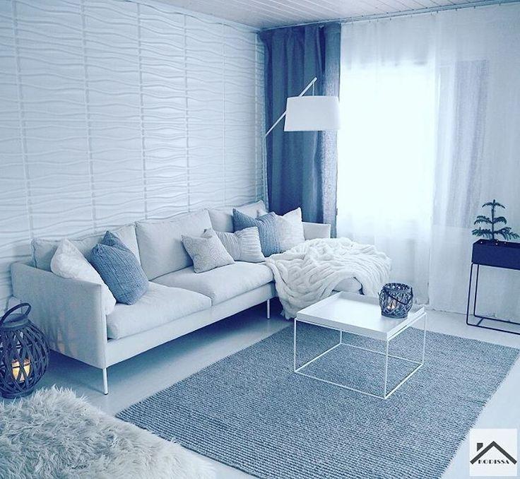 Kuusilinnan Ilma sohva Instagram@kodissa