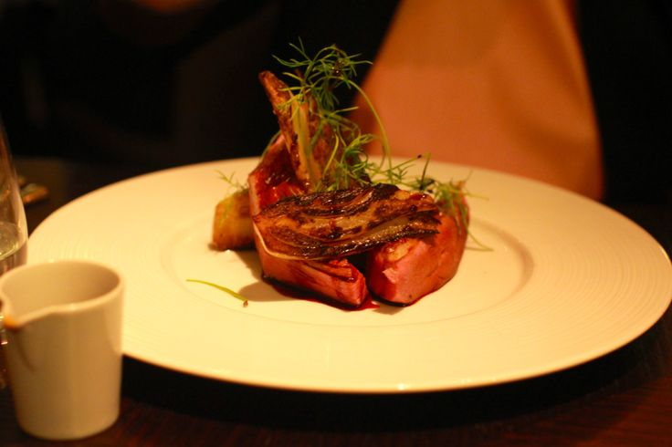 Powdered Duck Breast. At the Diner by Huston Blumenthal - London
