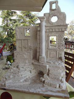 Tegole e Presepi, creazioni artistiche con materiali di riciclo