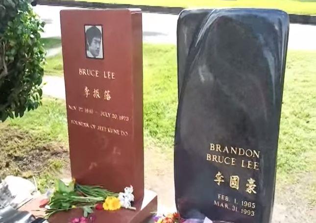 Bruce Lee Grave - Seattle Brandon Lee Grave - Seattle