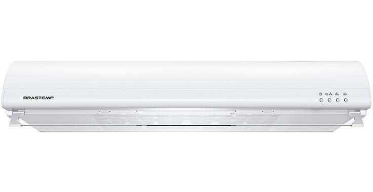 Depurador Brastemp 80 cm.  O depurador é adequado para cozinhas menores e não planejadas, e que não possuem saída de ar próxima a área do fogão. Com instalação mais simples sua função é filtrar o ar sugado e devolvê-lo ao ambiente.