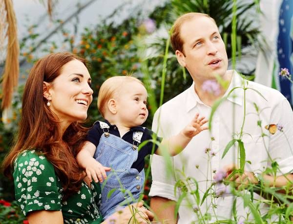Prince George turns one