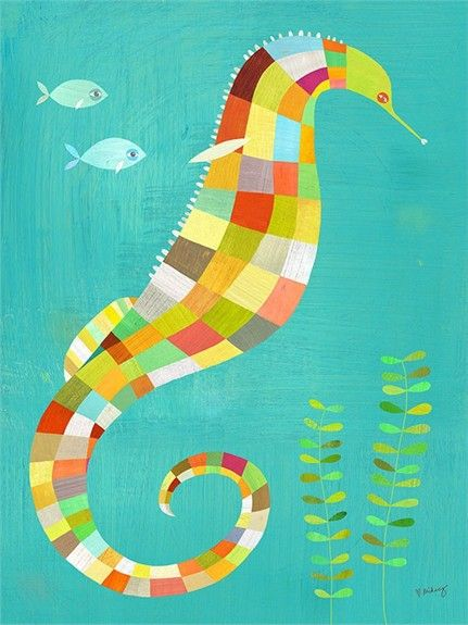 @rosenberryrooms is offering $20 OFF your purchase! Share the news and save! (*Minimum purchase required.) Under the Seahorse Canvas Wall Art #rosenberryrooms