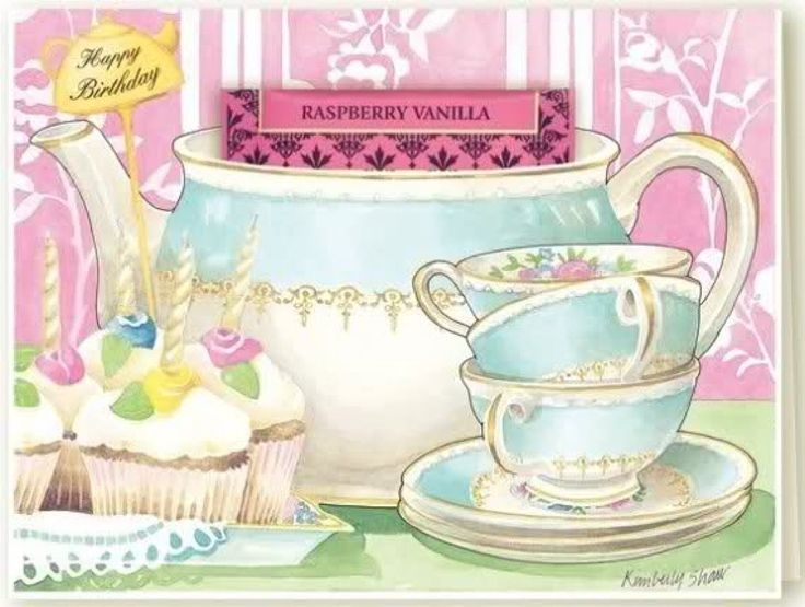1000+ images about Teacup Greeting Cards on Pinterest ...
