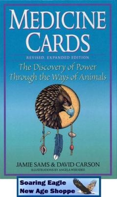 Medicine Cards  Deck and Book Set Native American Wisdom Animal Totems