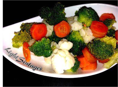 Light Συνταγές: Σαλάτα με βραστά λαχανικά