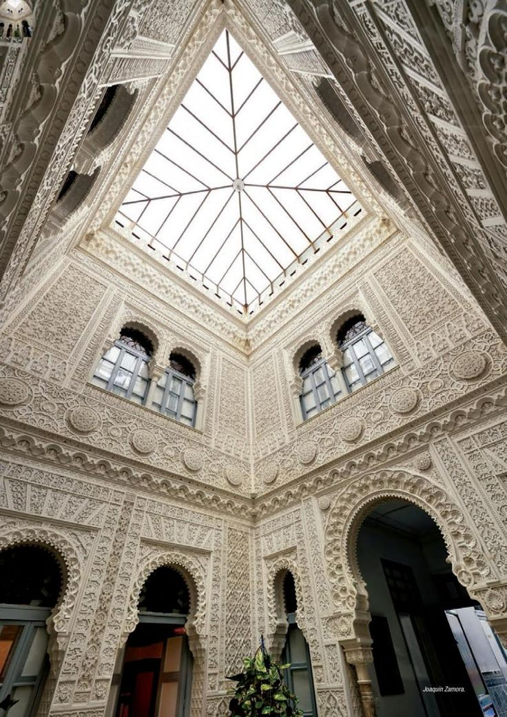Balneario de Archena - patio, Murcia Spain