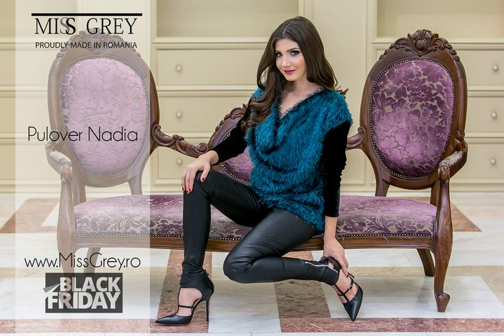 Last session of Black Friday sales! Shop this awesome sweater here: https://missgrey.ro/ro/home/pulover-nadia/237?utm_campaign=blackfriday2&utm_medium=regular_post&utm_source=pinterest_produs