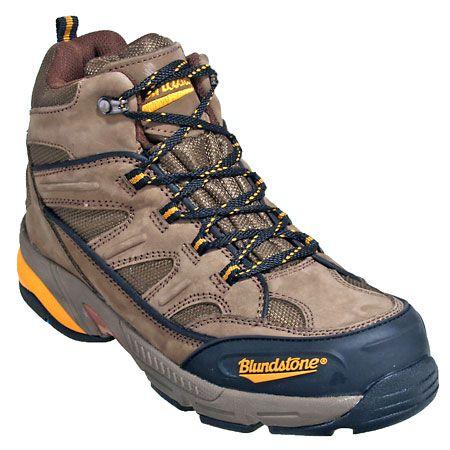 Blundstone 792 Mens Steel Toe EH Nubuck Hiking Boots