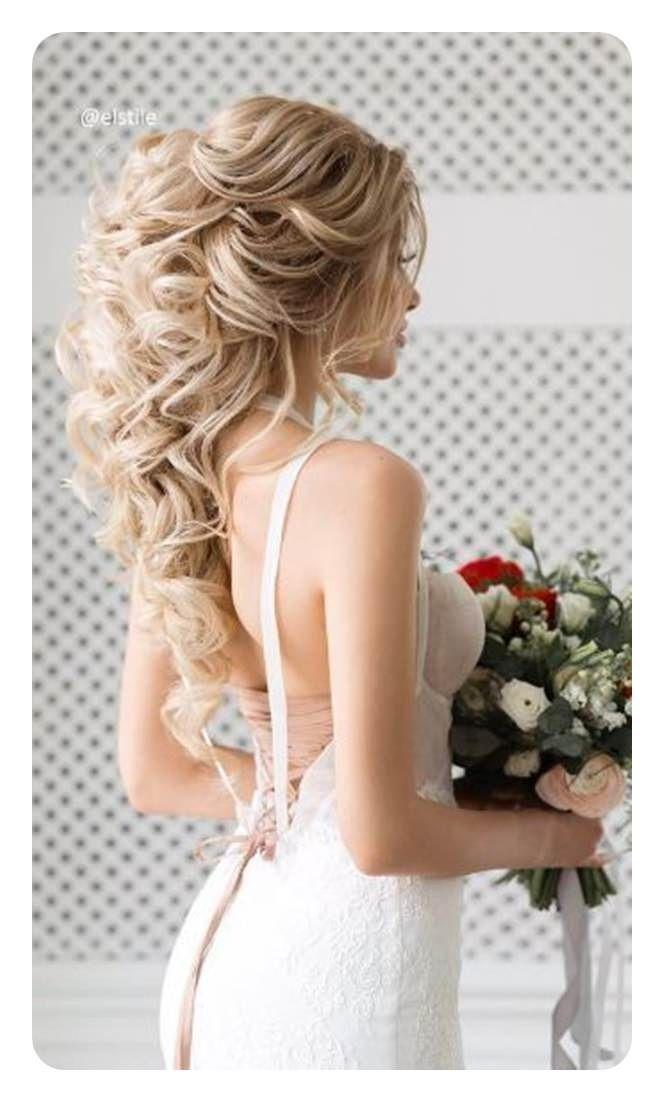 71 Peinados De Dama De Honor Unicos Para El Gran Dia Largo Peinados Peinados Para Damas De Honor Estilos De Peinado Para Boda Peinados Para Boda