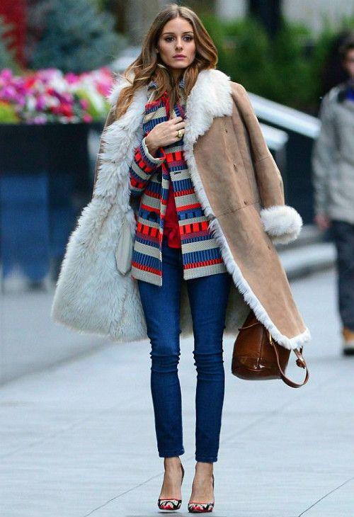 What would Olivia Palermo wear para ir a la oficina con un look informal