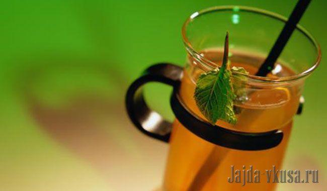 Чай с мятой по-алжирски