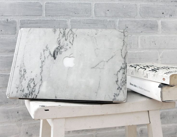 Give your laptop the ultimate royalty treatment with the Marble MacBook Cover by Element.