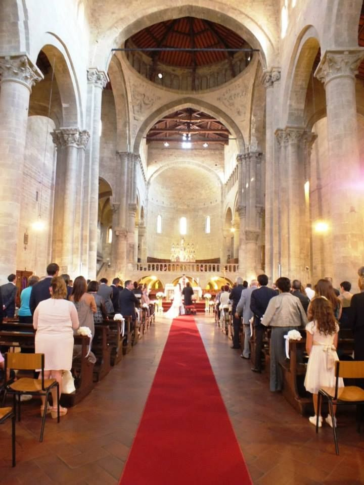 Church wedding in Arezzo, Tuscany. F&M July 2014 www.tuscantoursandweddings.com