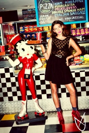 Mink Pink Winter 2012 Campaign