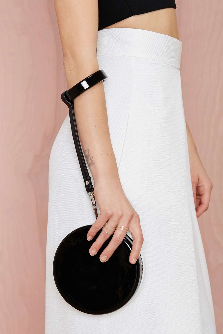 Nasty Gal x Nila Anthony Cute as a Button Wristlet Clutch at Nasty Gal