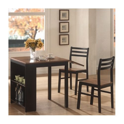 Found It At AllModern   3 Piece Dining Set With Drop Leaf