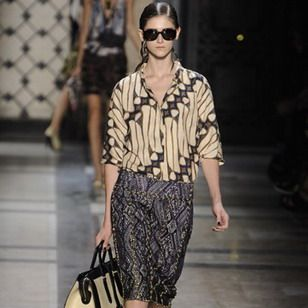 style Indonesian batik designs by Dries van Noten