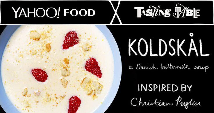 Learn how to make Michelin-starred chef Christian Puglisi's favorite breakfast, buttermilk soup.