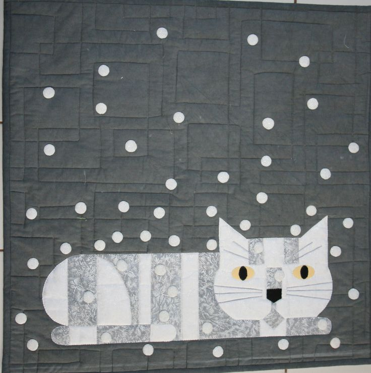 34 Best Images About Quilts Cats And More Cats On