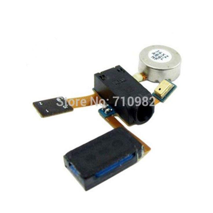 Free shipping for samsung galaxy s2 i9100 Earphone Jack and Ear Speaker Assembly with Vibrating Motor mobile phone flex cables