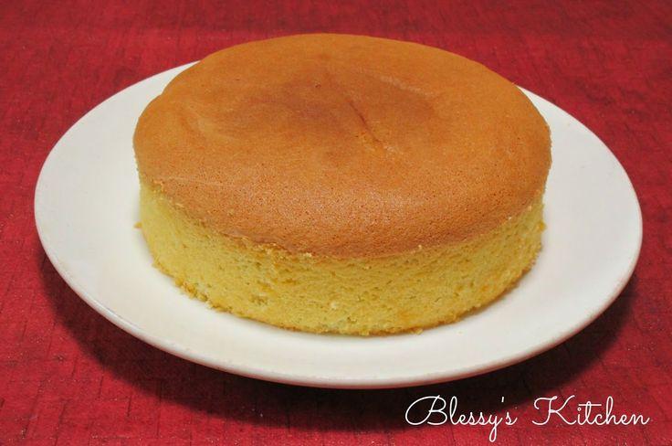 How To Cake It Sponge Cake