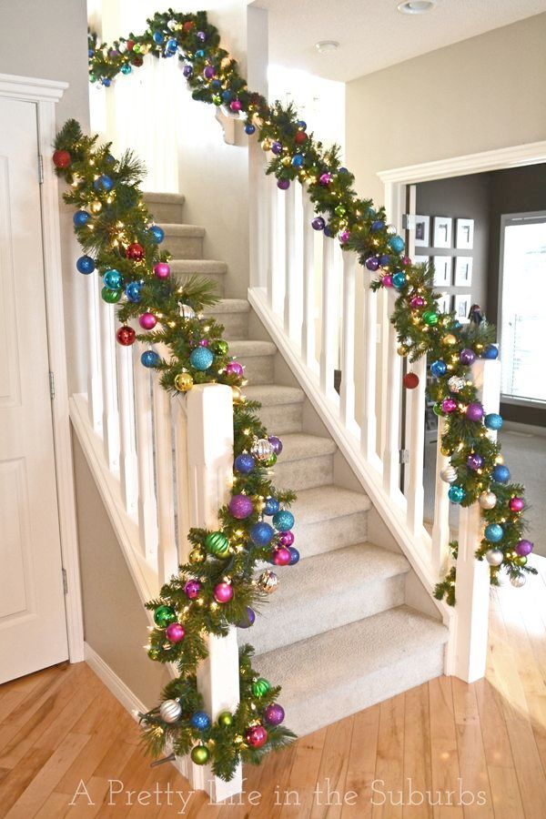 Christmas Decorations Sale Ireland Exceptional Christmas Stairs Decorations Christmas Staircase Christmas Staircase Decor