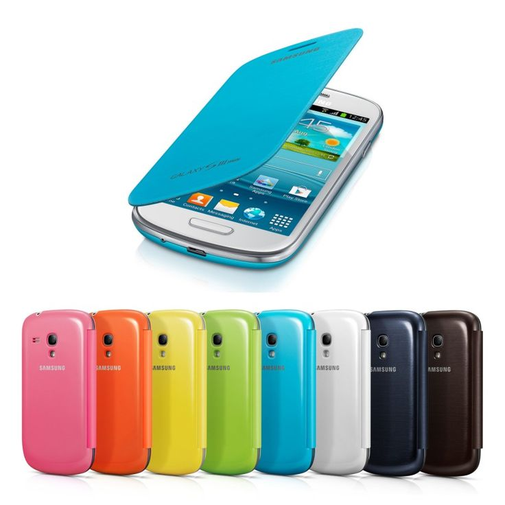 Samsung Galaxy SIII mini Flip Cover, Etui z klapką do GALAXY S3 mini