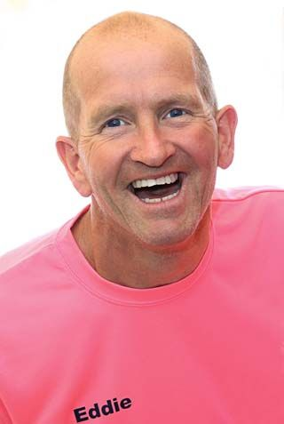 eddie the eagle edwards interview portrait