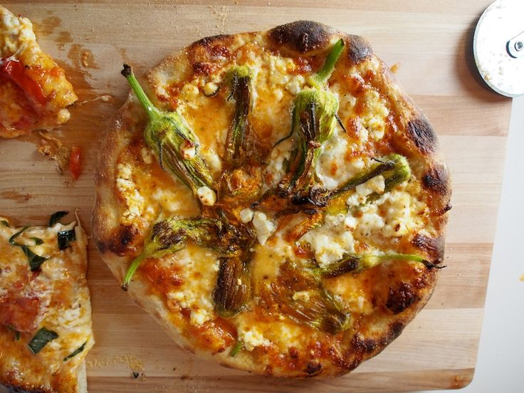 Squash Blossom And Pancetta Pizza Recipes — Dishmaps