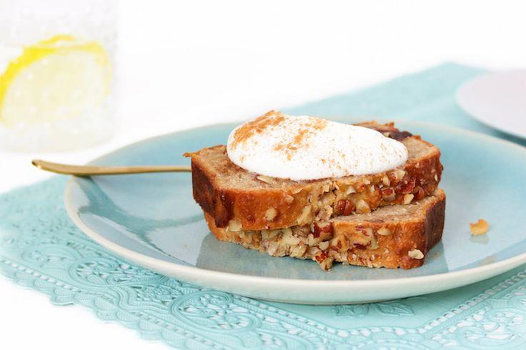 Ontbijtcake+met+yoghurt,+dadels+en+noten