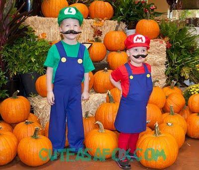 Mario & Luigi Costumes