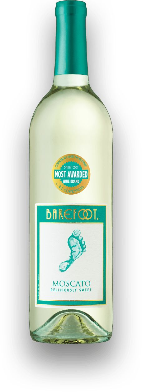 Barefoot Moscato ($7.99) - fruity, sweet, and very refreshing. Some say the Kool-Aid of wine!