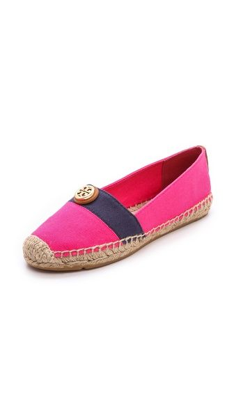 Tory Burch espadrilles. Love!!! Pink EspadrillesEspadrille ShoesFlat ...