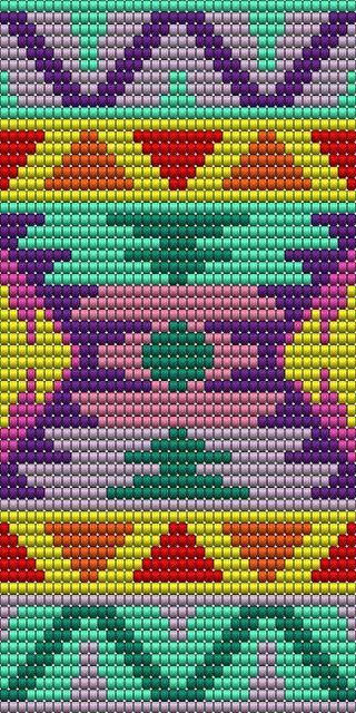 motif Mochila Wayuu