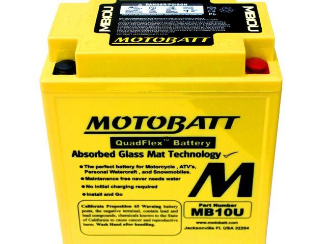 Image Batterie Gel Motobatt Runner, Kawasaki KZ, Beverly, Hexagon 4t, Vespa Granturismo, X7, X8, X9, Liberty, Vespa LXV, Vespa GTV, GTS, Suzuki GS, GSX E, GSX F, GS E, Virago
