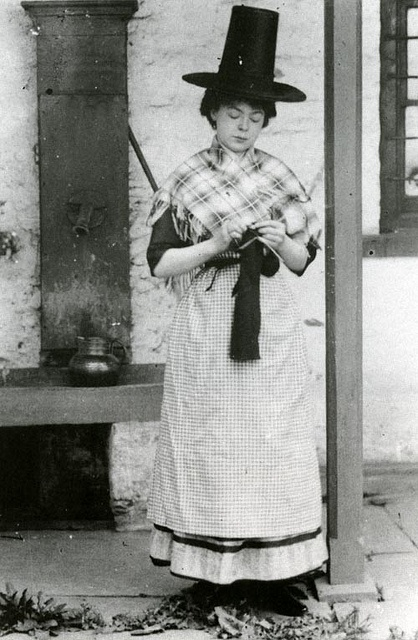Welsh Lady by MuseumWales, via Flickr